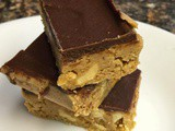 Homemade Peanut Butter Cup bars