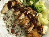 Jamaican Jerk Chicken with Jamaican Red Beans and Rice