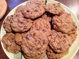 Oatmeal Chocolate and Cinnamon Chip Cookies