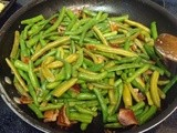 Sauteed Green Beans and Bacon