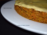 Oats Carrot Cake(Eggless)