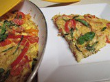 A Monday Kind of Pasta Frittata