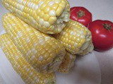 At Summer's End…Corn & Tomatoes