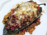 Confessions of an Impulse Buyer – Stuffed Poblano Peppers