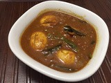Ande ki kadi (Egg Curry)