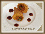 Stuffed Chilli Bhajjis