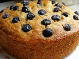 Buttermilk Banana Blueberry Bread (oven baked and Airfried)