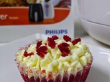 Phillips Airfryer Red Velvet Cupcakes