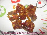 Dry Fruit Halwa - Dry Fruit Burfi -Traditional Diwali sweet Recipe - Indian Festival Recipe