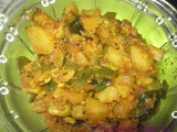 Mixed Vegetable dry Curry - Pongal Aintu Curry Recipe - Pongal Kootu - Pongal Festival Recipes