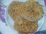 Punjabi Style Mixed Vegetable Paratha | Stuffed Paratha Kids Recipe