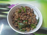 Red Karamani Sundal | Black Eyed Peas Sundal | Lobia Recipes