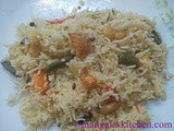 Vegetable Pulao | Veg Pulav Recipe in South Indian Style