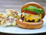 Buffalo burgers with chipotle mayonnaise