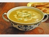 Creamy curried parsnip and butter bean soup