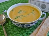 Rustic Bakery's roasted butternut squash soup