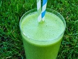 Spinach & nut smoothie