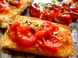 A simple pleasure: tomatoes on toast (pan con tomate)