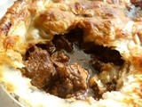 Baby it's cold outside . . . so welcome to a warm pie embrace! a traditional steak and ale pie