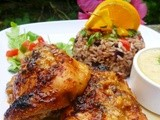 Cuban roast chicken with sour orange mojo sauce