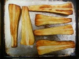 Dry bones: roasted parsnips are perfect for halloween