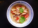 Fragrant and soothing: thai coconut chicken soup (tom kha gai)