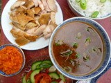 Hainanese chicken rice - proud to be a random recipe
