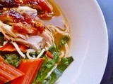 Hallelujah! nigel slater's chicken pho soup and  bit of a roast chicken revelation