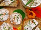 It's the cat's whiskers! smoked mackerel pâté