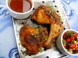 Smoked paprika and rosemary roast chicken