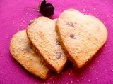 Sweets for your sweet, sugar for your honey: valentine shortbread hearts