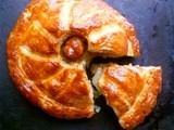 Wow factor! celeriac, onion and blue cheese pithiver