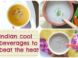 Drinks for summers /Indian beverages to beat the heat