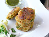 How to make simple aloo tikki /with potato and peas