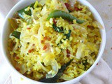 How to prepare aval upma /poha/beaten/flatted rice upma