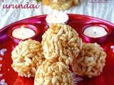 Karthigai pori urundai /how to make puffed rice balls
