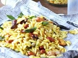 Masala puffed rice recipe /kara pori(snacks)