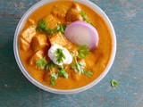 Method to prepare paneer butter masala
