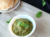 Mint leaves chutney/pudhina chutney for idli and dosa