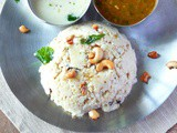 Recipe for millet /mixed millet venpongal