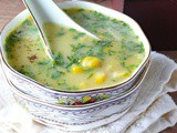 Recipe for sweetcorn soup /marudhuskitchen