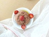 Strawberry halwa recipe/fruit halwa/khoya strawberry halwa