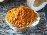 Vangi bhath masala powder recipe/Vaangibathpowder