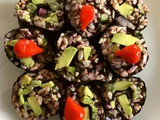 Brown & Wild Rice Sushi (Leftover Recipe)