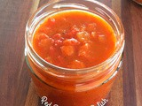 Red Bell Pepper Relish