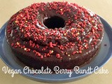 Vegan Chocolate Berry Bundt Cake
