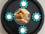 Vegan Gram Flour & Coconut Fudge (Besan Burfee, Sugarfree)