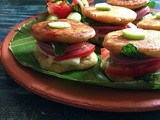 Adai Sliders | Indo- American Fusion Recipe | Gluten Free and Vegan Slider Recipe | Fusion Recipes by Masterchefmom