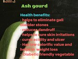 Ash Gourd Recipes | Health benefits of Ash Gourd | Food Facts By Masterchefmom