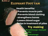 Elephant Foot Yam Recipes | Health Benefits of Elephant Foot Yam | Food Facts by Masterchefmom